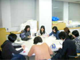 地域の社会資源担当者とのミーティング写真