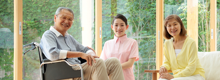 写真:要介護高齢者支援イメージ